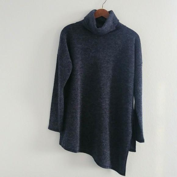 34ed67fa6caa12 Rachel Roy asymmetric turtleneck sweater pullover